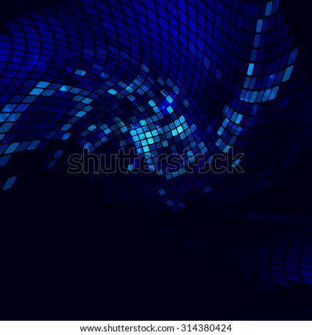 abstract luminescent  background, illustration clip-art
