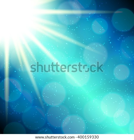 Abstract Magic Light Background Illustration