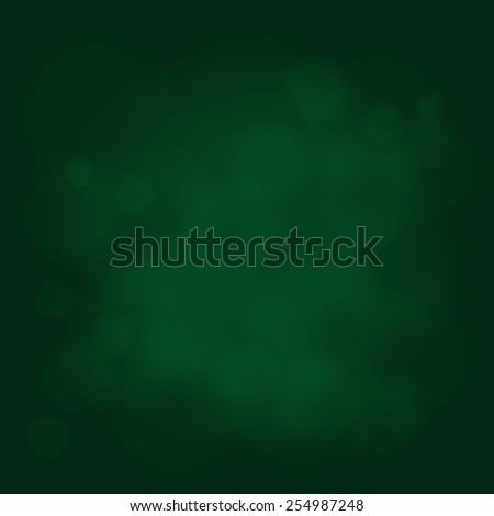 abstract magic light sky bubble blur green poison emerald background - stock photo