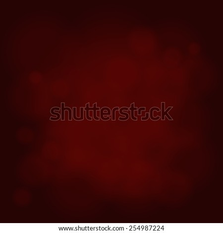 abstract magic light sky bubble blur red background - stock photo