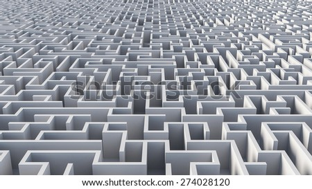Abstract maze architecture,