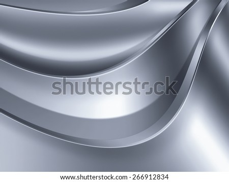 abstract metal background for your project - stock photo