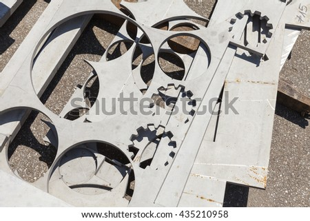 abstract metal background texture close up