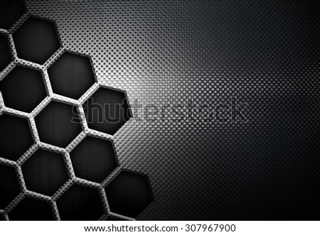 abstract metal plate - stock photo