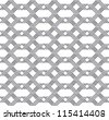 Abstract metal texture, seamless pattern on white. Vector version available in my portfolio - stock photo