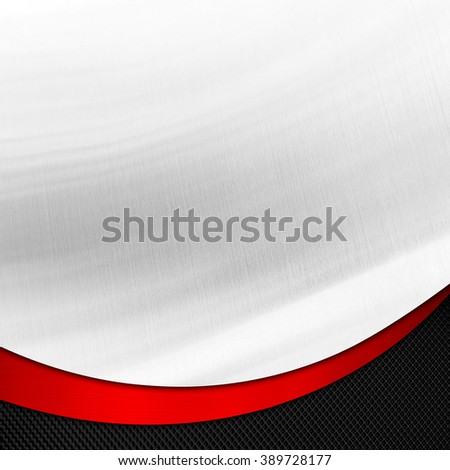 abstract metal with curved pattern