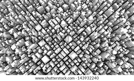 abstract metropolis 05 - stock photo