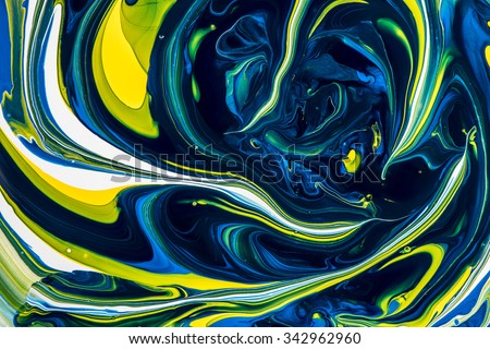 Abstract mixed paint the background. Mixed paint.  - stock photo