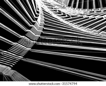 abstract modern architecture