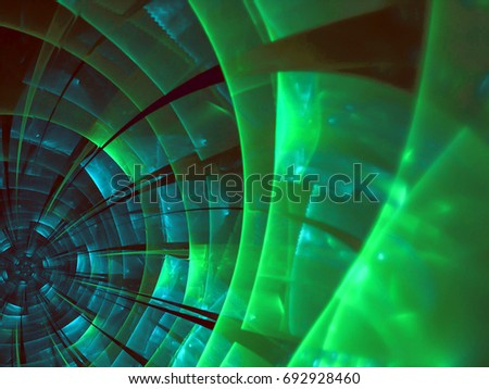 abstract modern background with fractal shapes