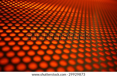 Abstract modern background with orange circles
