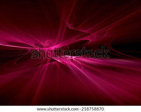 abstract modern background with smooth lines - stock photo