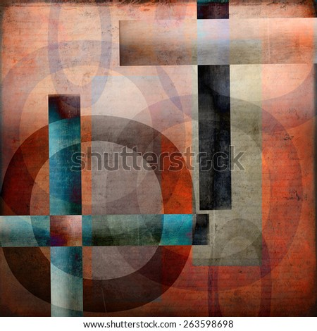 Abstract modern contemporary artwork for background or texture. - stock photo