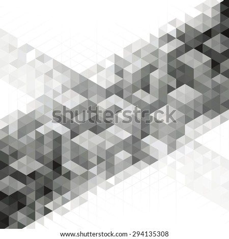 Abstract modern geometric urban design background.  - stock photo