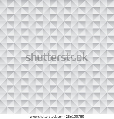 abstract monochrome seamless wallpaper with 3D effect - stock photo