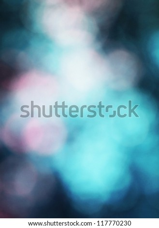 Abstract morning sea background bokeh - stock photo