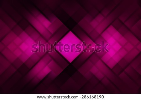 Abstract mosaic geometrical pink  background