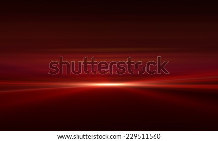 Abstract Motion Background With Lens Flares and pinch effect - stock photo