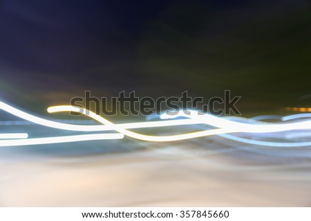 Abstract motion blur - stock photo