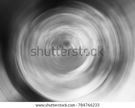 Abstract motion blur background, black and white color tone