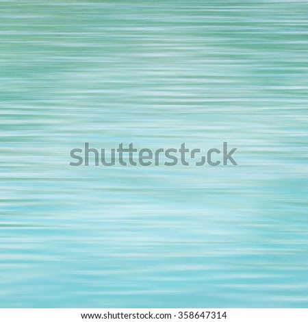 Abstract motion blur of water on canvas background, pastel background - stock photo