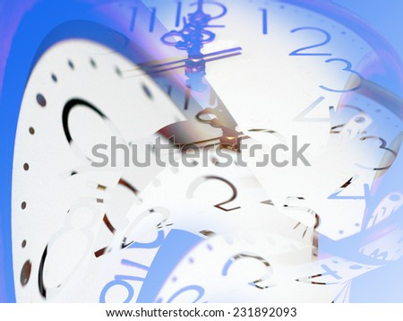 abstract motion of time