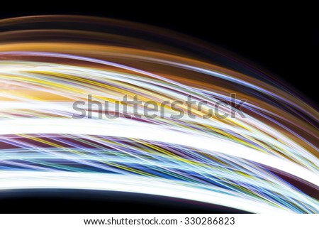 abstract moving light