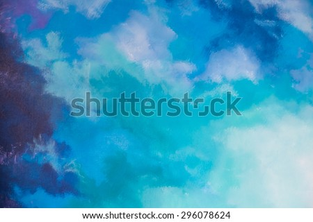 abstract multi color colorful wall background - stock photo