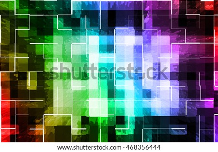 abstract multicolor   background with mosaic style