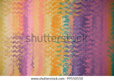 abstract multicolor stripes pattern background - stock photo