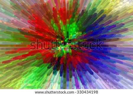 abstract multicolor   texture  background with motion block blur
