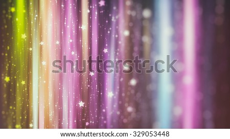 Abstract multicolored background with bokeh defocused lights and shadow.