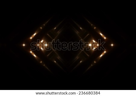 abstract multicolored background with ornament - stock photo