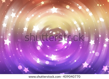 abstract multicolored background with scintillating circles and gloss