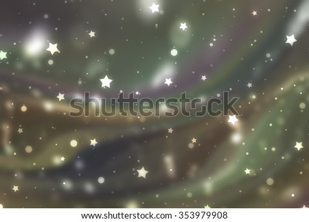 Abstract multicolored elegant background with glitter and waves