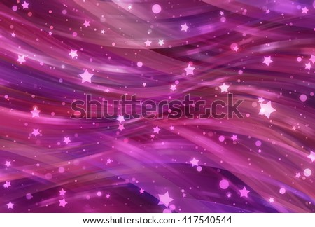 Abstract multicolored elegant background with glitter and waves - stock photo