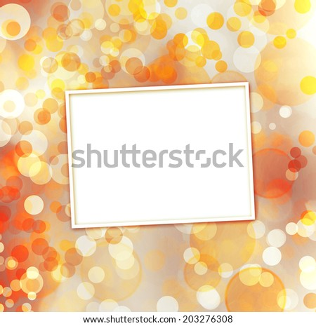 Abstract multicoloured background with blur bokeh for design  - stock photo