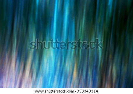 Abstract natural background blur, motion simulation, a series of images