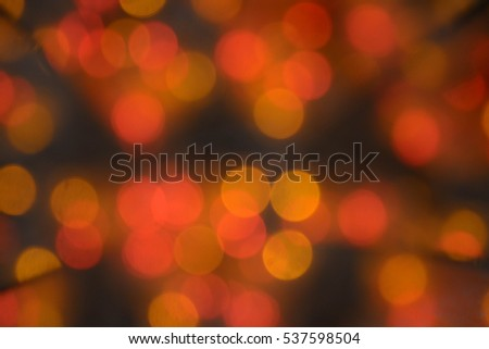 Abstract natural background, lights, Christmas tree decoration, New Year