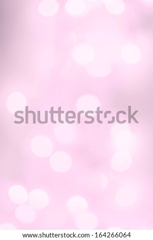 Abstract natural blur defocussed background with sparkles, soft focus, greeting holiday card, festive frame, magic lights,  wallpaper background, white and pink color - stock photo