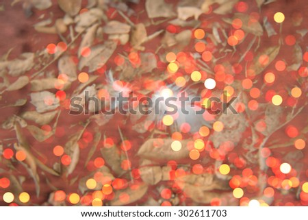 Abstract natural color background. Natural Blurred Bokeh