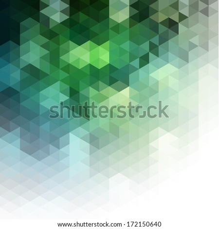 Abstract natural mosaic background - raster version  - stock photo