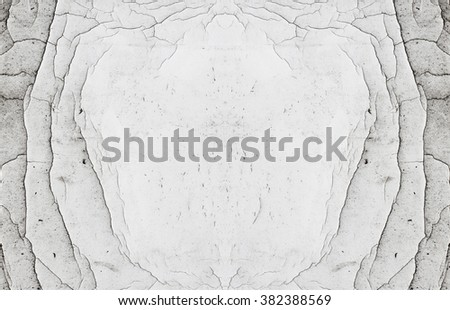 Abstract Natural Symmetrical Scratched White Copy Stock Photo ...