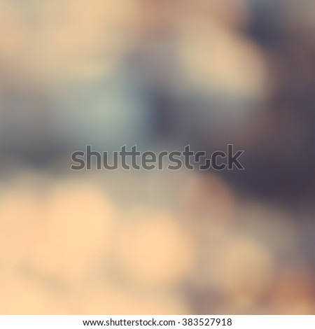 Abstract nature background with natural bokeh and defocused lights. Art soft toned artistic background - stock photo