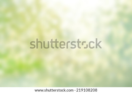 Abstract nature blur background with copy space - stock photo
