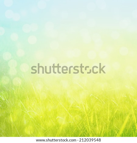 abstract nature bokeh background
