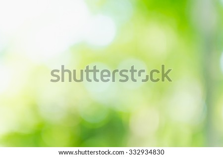 Abstract nature green background