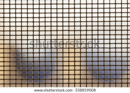 abstract net background close up