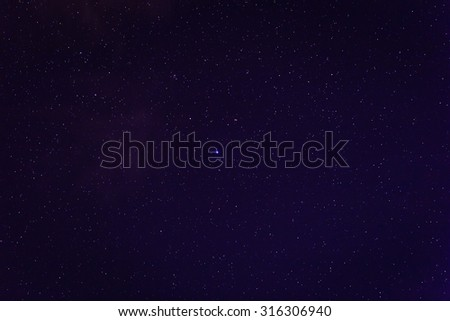 abstract night sky with stars