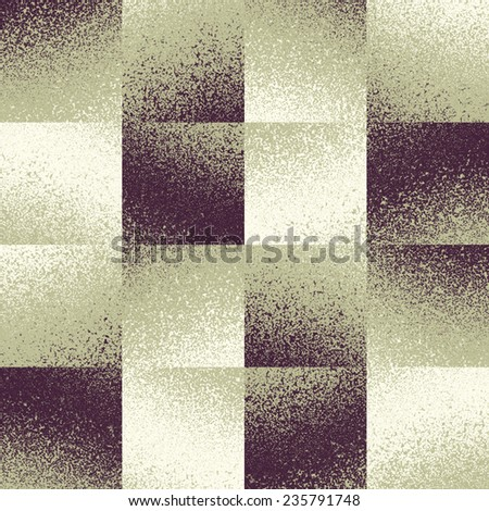 Abstract noisy squares background. Seamless pattern. - stock photo